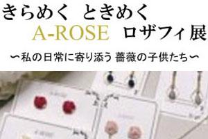 10月28日~11月15日 きらめくときめくA-ROSE ロザフィ展 in宮崎県
